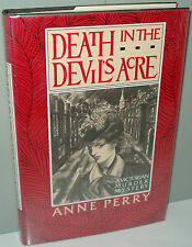 SIGNED - Death in the Devil's Acre by Anne Perry (1985, Hardcover, 2nd Printing)