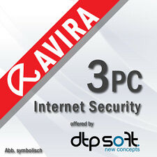 AVIRA Internet Security Suite 3 PC 2017 VOLLVERSION Premium 1 Jahr 2016