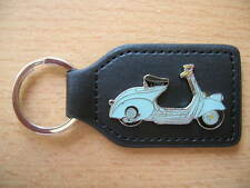 Keyring Vespa Vintage car light blue light blue Roller Art. 1090 Scooter