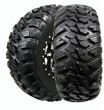 2 New GBC 26x10x12 26x10R12 10-Ply Kanati Mongrel DOT Legal Radial UTV SXS Tires