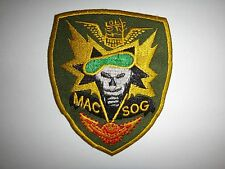 MACV-SOG MILITARY ASSISTANCE COMMAND STUDIES & OBSERVATION GP Semi-Subdued Patch