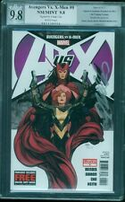 Avengers vs X Men 0 PGX CGC SS 9.8 5th Print Cho Variant Black Widow Movie Top 1