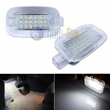 2 White Exact Fit LED Side Door/Footwell/Vanity Mirror/Trunk Lights For Mercedes