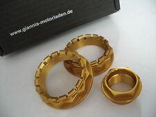 Ducati Radmutter-Set 3-tlg. 1098, 1198, 1199, SBK 1299, Diavel, Monster etc.