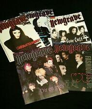 Newgrave 5 Magazines Goth Deathrock LAM Dir en Grey