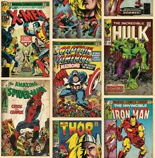 Marvel Tapete / Spiderman / Ironman / Thor / Comic-Tapete / Action Heroes 70-238