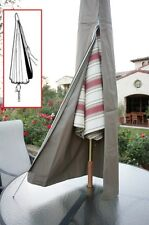 Patio Umbrella Cover fits 7ft to 11ft umbrellas