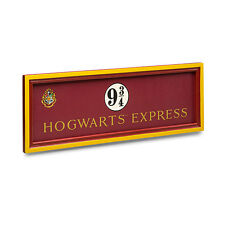 Platform 9 3/4 Hogwarts Express Sign