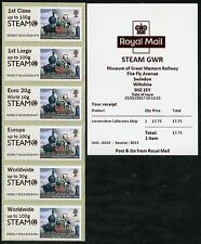 SWINDON STEAM GWR MUSEUM +LOGO NO SWINDON175 LOCO COLL SET 1st DAY POST & GO