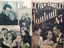 """LE FILM COMPLET 1937 N 2040 """" LE FAUTEUIL 47 """", FRANCOISE ROSAY - HENRI GARAT"""