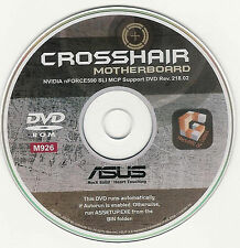 ASUS CROSSHAIR Motherboard Drivers Installation Disk M926