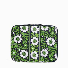 """Beautiful Vera Bradley """"Lucky You"""" Padded NWT Laptop Sleeve Fits 13"""" Mac & Dell"""
