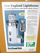 """New England LIGHTHOUSE Kit Real Good Toys 1"""" scale Sealed Box dollhouse LH100"""