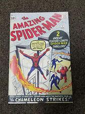 Reprint AMAZING SPIDERMAN #1 Custom Made Cover with Original Reprint