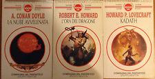 LA NUBE AVVELENATA Conan Doyle 1994 compagnia del fantastico NEWTON integrale