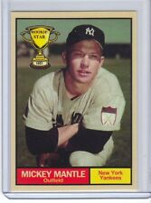 Mickey Mantle 1951 New York Yankees Rookie Stars series #18 by Monarch Corona