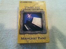 BMG TIMELESS PIANO FAVORITES MOONLIGHT PIANO 2 CASSETTE TAPE BOX SET