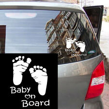 """1pc """"Baby on Board"""" Auto Car Stickers Graphics Vehicle Window Decal Vinyl Decor"""