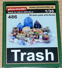 Abfall / Trash (39 resin parts & decal) von Plus Model in 1/35