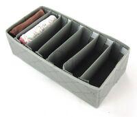 Drawer Organiser 7 Adjustable Slots. Storage Soloution box socks organiser