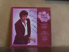 MARCO VALENTI, SONG OF YESTERDAY & TODAY AUTOGRAPHED LP