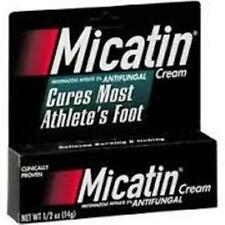 Micatin Anti Fungal Cream for Athletes Foot, .5 Oz (3 Pack)