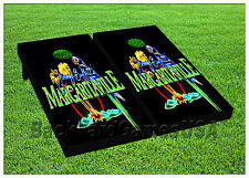 Jimmy Buffet Margaritaville CORNHOLE BEANBAG TOSS GAME w Bags Game Board Set 591