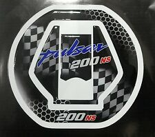 Custom Made Tank Cap Sticker or Fuel Cap Pad Protector For Pulsar 200 RS/pulsar