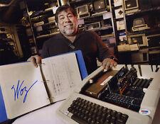 Steve Woz Wozniak SIGNED 11x14 Photo Apple 1 Computer PSA/DNA AUTOGRAPHED