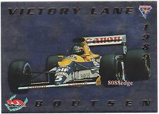 1994 FUTERA VICTORY LANE VL5: THIERRY BOUTSEN #/2500 F1 GRAND PRIX 3 CAREER WINS