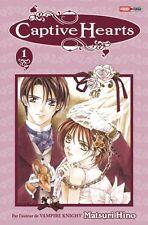 Collection de mangas Captive Hearts en français - Tomes 1 à 3 - Panini Manga