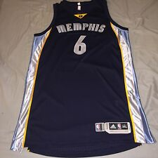 Authentic Game Used Alex Stepheson Memphis Grizzlies Jersey Champion Adidas