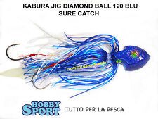 KABURA JIG SURE CATCH DIAMOND BALL 80 GR BLUE