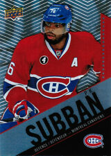 15/16 UD TIM HORTONS COLLECTOR'S SERIES BASE CARDS ( #51-100 ) U-Pick From List