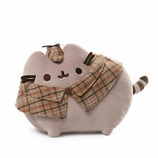 "Brand New Detective Pusheen 12"" L plush by Gund Item #   4054854"