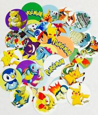 "60 Pokemon 1"" inch Precut Bottle Cap Images for DIY Projects Bows"