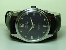 Vintage Hmt Pilot Winding 17 Jewels Wrist Watch Old Used B617 Antique