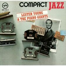 CD Lester young e the piano giants- compact jazz 042283531628