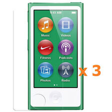 3 x Apple iPod Nano 7th Generation 7G Screen Protector Anti-Glare Antiglare