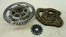 1986 Yamaha Fazer FZX750 Y287' sprocket and chain set