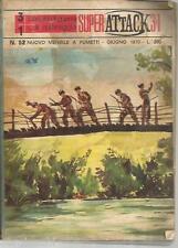 SUPER ATTACK 3+1 - N° 52  - giugno 1970  -FUMETTO GUERRA WAR--GU3