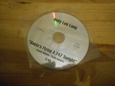 CD Pop Andy Lee Lang - Santa's Flying A 747 Tonight (1 Song) GABRIEL - cd only -