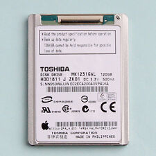 Toshiba (1,8 Zoll) (MK1231GAL) 120GB HDD FOR iPod 6th gen classic Re MK1634GAL