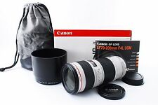 Canon EF 70-200mm f/4 L USM Lens w/case hood Boxed [Exc+++] from Japan #644