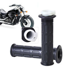 "1 Pair 7/8"" Throttle Handle Bar Twist Hand Grips fits Motorcycle ATV Scooter"