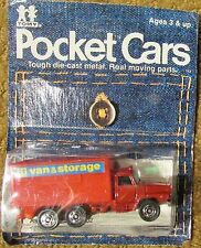 1979 TOMY / Tomica Pocket Cars Nissan Moving Van No. 117-20 Assortment No. 4502