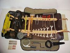 Ferrari 365 Tool Kit_Leather Roll Bag_Wrenches_Hammer_Pliers_GTS/4 Daytona GTB/4