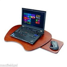 NEW Windsor Laptop Lap Desk Cherry Wood Veneer Finish, cushioned lap pad, 23x16