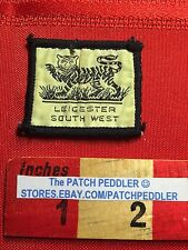 Small Vintage ? Tiger ? Emblem Leicester South West England Patch 63JJ