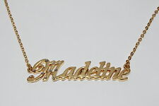 MADELINE 18ct Gold Plating Necklace With Name - Nekless Bridal Accessories Gifts